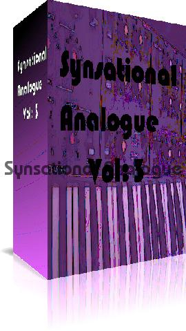 Product picture Synsational Analogue Vol 3